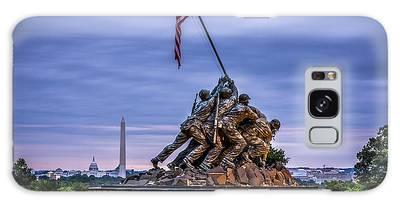 Iwo Jima Monument Galaxy Case
