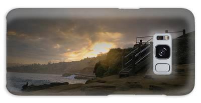 La Jolla Cove Sunrise Galaxy Case