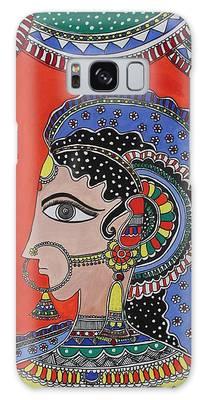 Madhubani Paintings Galaxy Cases