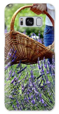 Lavender And Basket Galaxy Case