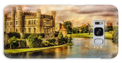 Leeds Castle Landscape Galaxy Case