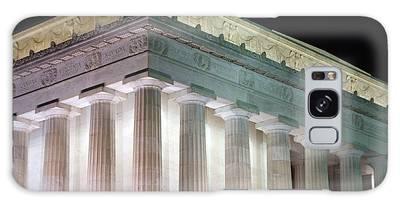 Lincoln Memorial At Night Galaxy Case