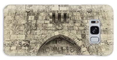 Lion Gate Jerusalem Old City Israel Galaxy Case
