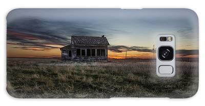 Prairie Sunset Galaxy Cases