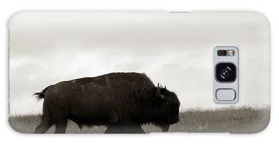 Lone Bison Galaxy Case