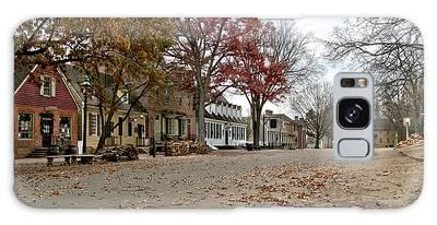 Lonely Colonial Williamsburg Galaxy Case
