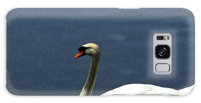 Lonesome Swan Galaxy Case