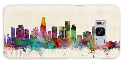 Los Angeles City Skyline Galaxy Case