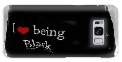 Love Being Black Galaxy Case