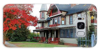 Galaxy Case featuring the photograph Lowenstein-henkel House by Cynthia Guinn