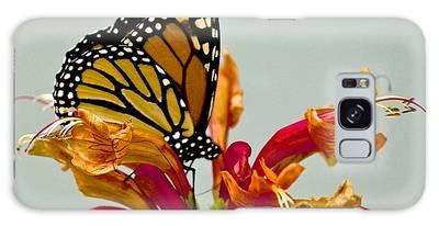 Magnificent Monarch Galaxy Case