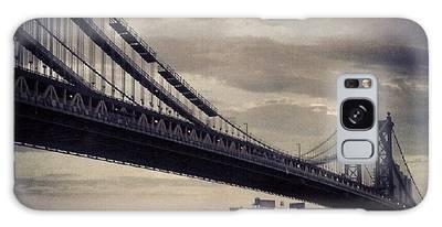 Manhattan Bridge In Ny Galaxy Case