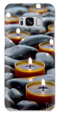 Meditation Candles Galaxy Case