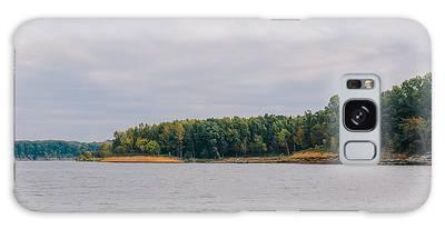 Men Fishing On Barren River Lake Galaxy Case