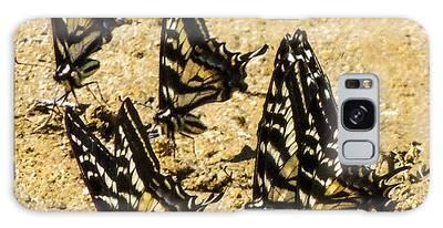 Merced Swallowtails Galaxy Case