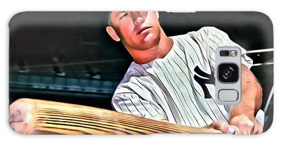 Mickey Mantle Painting Galaxy Case