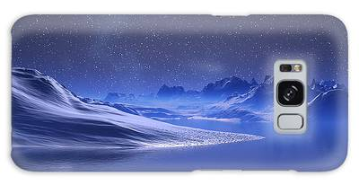 Midnight Snow Galaxy Case