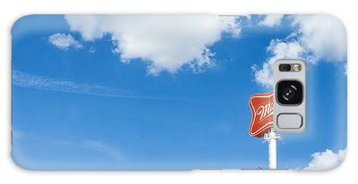 Miller Brewery Sign Galaxy Case