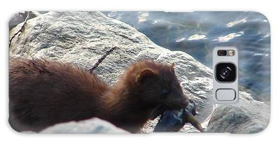 Mink With A Round Goby Galaxy Case