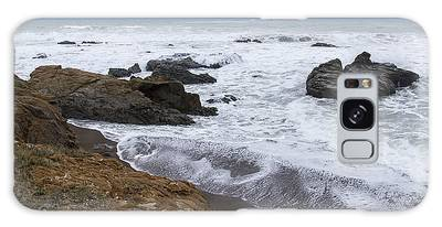Moonstone Beach Surf 3 Galaxy Case