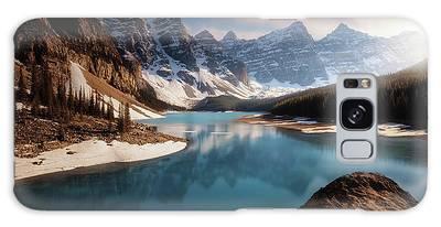 Moraine Lake Photographs Galaxy Cases