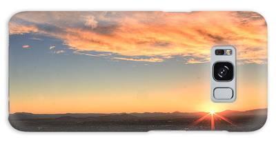 Mount Soledad Panoramic Sunrise Galaxy Case