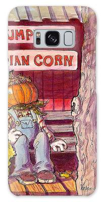 Mr. Pumpkin Galaxy Case