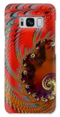 Native American Headdress Galaxy Case