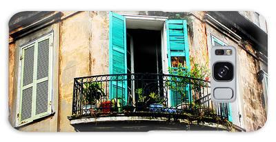 New Orleans Balcony Galaxy Case