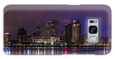 New Orleans Skyline Galaxy Case
