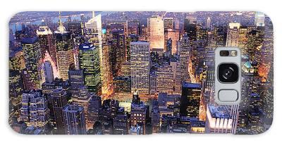 New York City Manhattan Times Square Night Galaxy Case