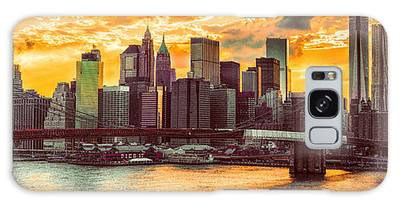 New York City Summer Panorama Galaxy Case
