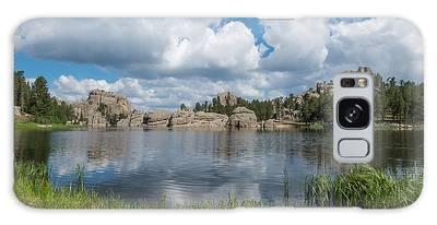 Galaxy Case featuring the photograph Sylvan Lake South Dakota by Patti Deters