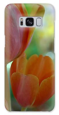 Nothing As Sweet As Your Tulips Galaxy Case