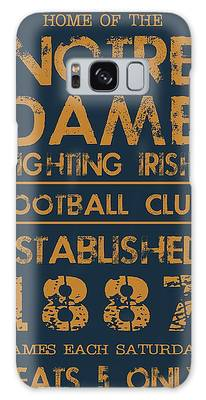 Notre Dame Galaxy Cases