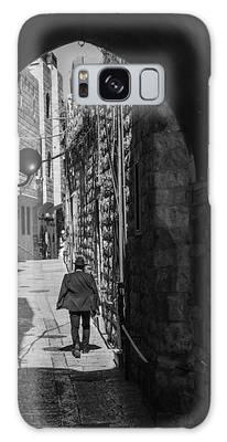 Old City Jerusalem Streets Galaxy Case