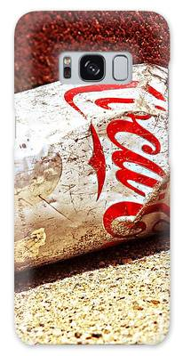 Old Coke Can Galaxy Case