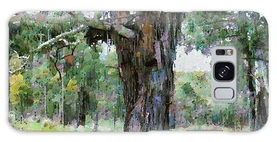 Old Gum Tree Galaxy Case