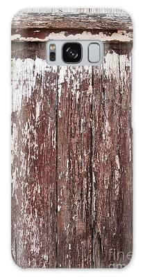 Old Shed Door Galaxy Case