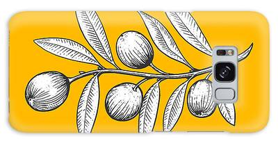 Olive Branch Digital Art Galaxy Cases