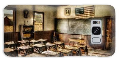 One Room School Galaxy Case