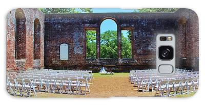Galaxy Case featuring the photograph Outside Wedding by Cynthia Guinn