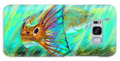 Marlin Digital Art Galaxy Cases