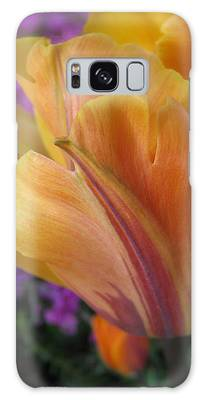 Painted Tulip Galaxy Case