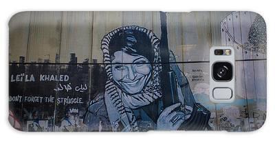 Palestinian Graffiti Galaxy Case