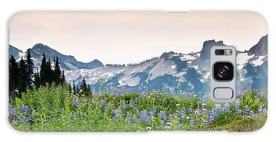 Paradise Meadows And The Tatoosh Range Galaxy Case