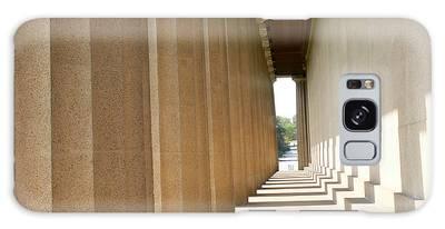 Galaxy Case featuring the photograph Parthenon1 Nashville Tn by Ericamaxine Price