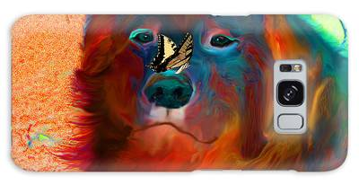 Galaxy Case featuring the photograph Party Pyrenees by Ericamaxine Price
