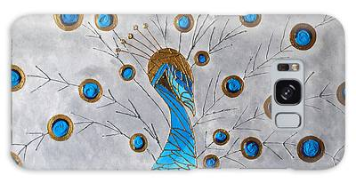 Peacock And Its Beauty Galaxy Case