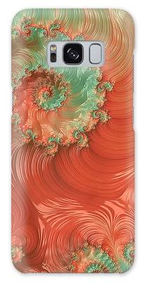 Galaxy Case featuring the digital art Pearls Of The Southwest by Susan Maxwell Schmidt